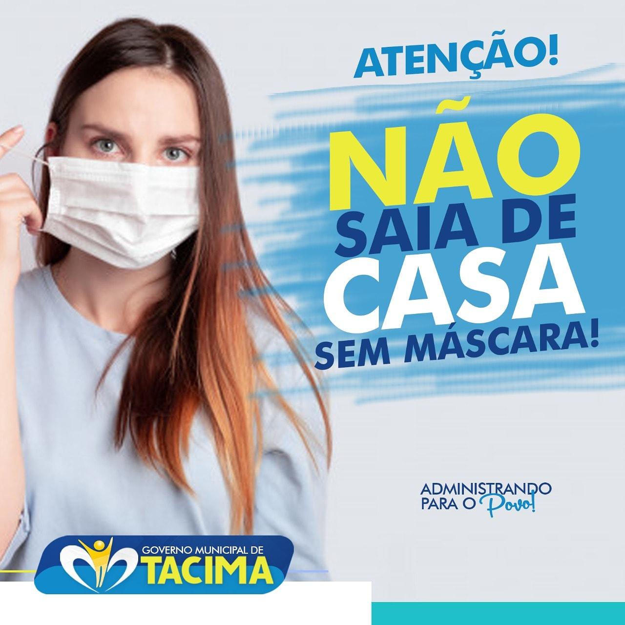 AO SAIR DE CASA, USE MÁSCARA!
